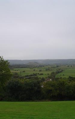View across Wedmore